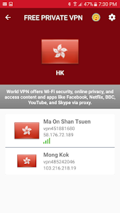Hongkong Free VPN - Unlimited Security Proxy VPN 2 2 + (AdFree) APK