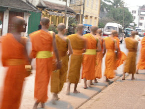 Photo: Luang Prabang - early morning alms collection