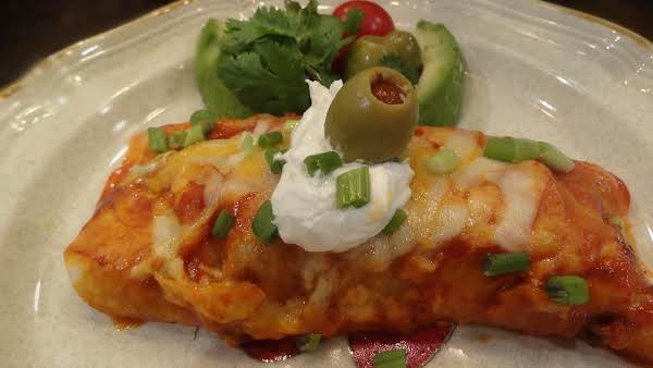Easy Beef And Cheese Enchiladas -- Bonnie's Recipe