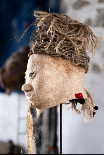 Christine Piel Creations Textile Laine Design decoration