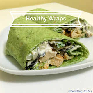 How to make Healthy Wraps!.