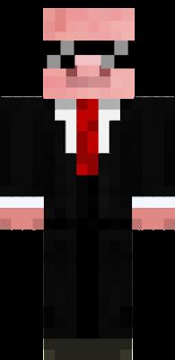 pig suit npc