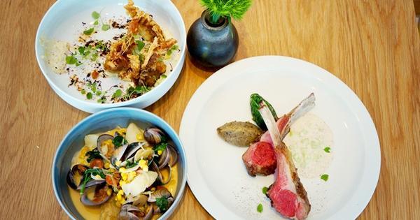 amba台北中山意舍酒店ACHOI當代料理餐,充滿時尚雅痞風格的餐廳