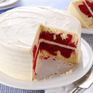 Red Velvet Marble Cake.
