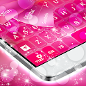 Clavier rose pour Android icon