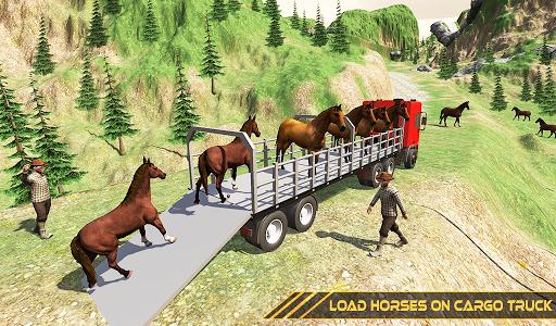 Horse Transport Truck Sim 19 -Rescue Thoroughbred screenshot 10
