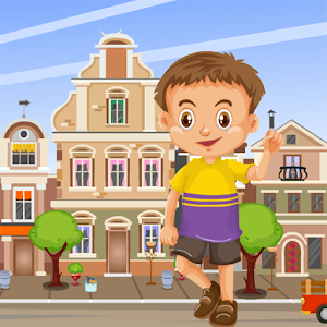 City Boy Rescue Kavi Escape Game - 300