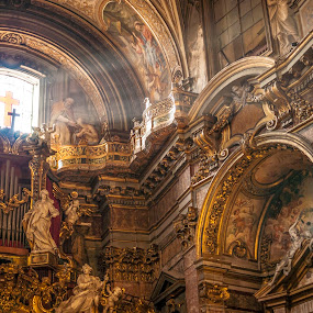 Santa Maria Maddalena by Alex Barrow - Buildings & Architecture Places of Worship ( , building, interior, worship )