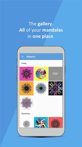 Mandoo: Mandala drawing App android2mod screenshots 5