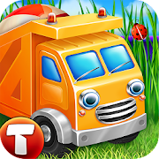 Cars in Sandbox (app 4 kids)