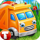 Cars in Sandbox (app 4 kids) icon