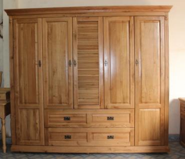 Chọn gỗ nào cho tủ quần áo