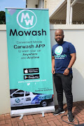 Ayanda Dladla, co-founder of car wash mobile app called Mowash.