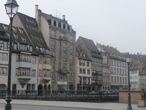 Photo: Estrasburg,a la vora del riu Rin.