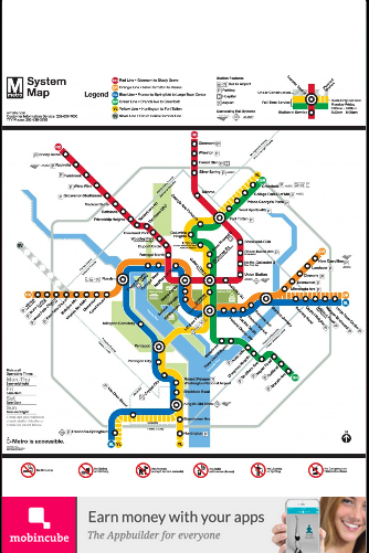 Washington dc metro map android apps on google play washington dc metro map screenshot gumiabroncs Gallery
