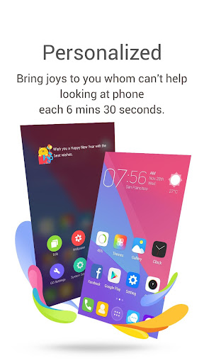 GO Launcher-Theme, Wallpaper screenshot 4