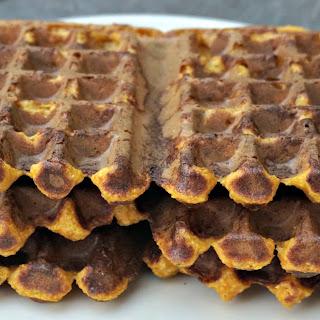 Pumpkin Latke Waffles