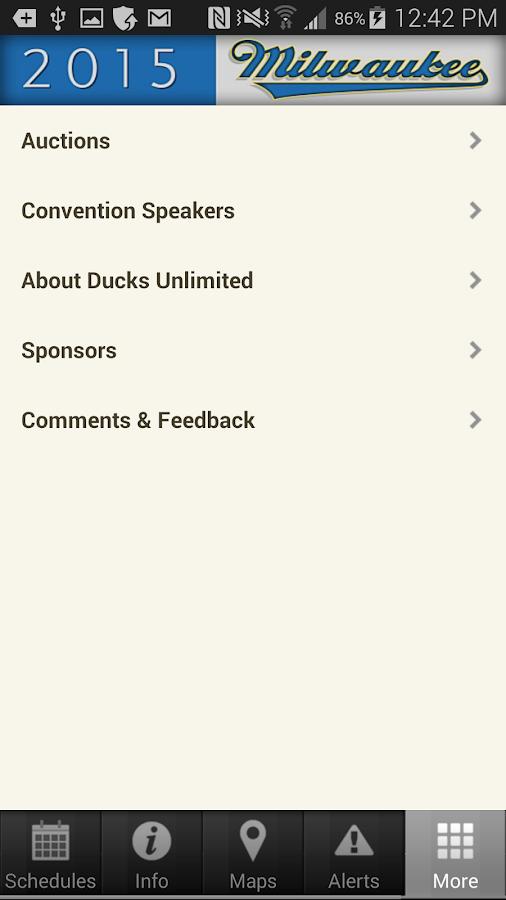 DU National Convention - screenshot