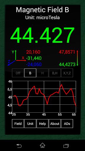 Ultimate EMF Detector Free (Real data) screenshot 5