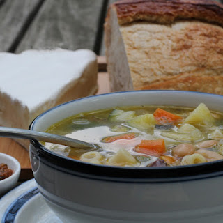 Provencal Vegetable Soup au Pistou
