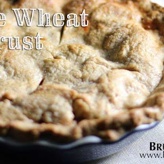 100% Delicious Whole Wheat Pie Crust