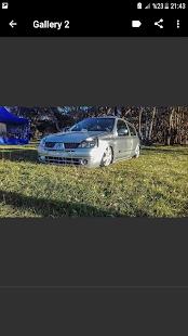Modifiye Clio - náhled