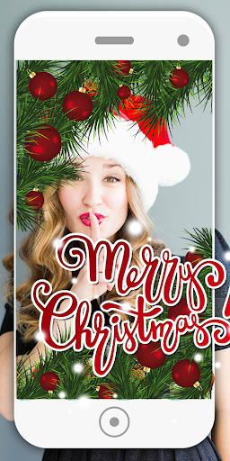 Merry Christmas Editor Face Camera 6.1 screenshots 9