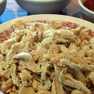 Easy Shredded Chicken.