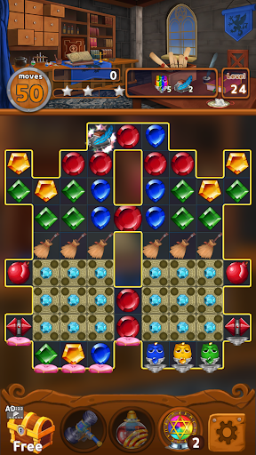 Jewels Magic Kingdom: Match-3 puzzle 1.1.6 screenshots 24