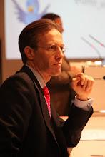 Photo: Daniel Holtgen ready to opne the Privacy vs Publicity Debate - 2012