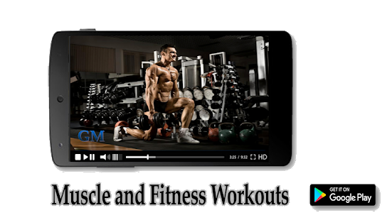 Muscle and Fitness Workouts - náhled