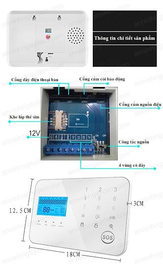 máy báo động chống trộm wifi