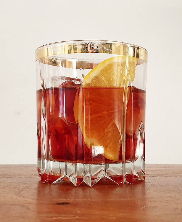 Don't mess with a classic negroni.