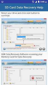 SD Card Data Recovery Help screenshot 4