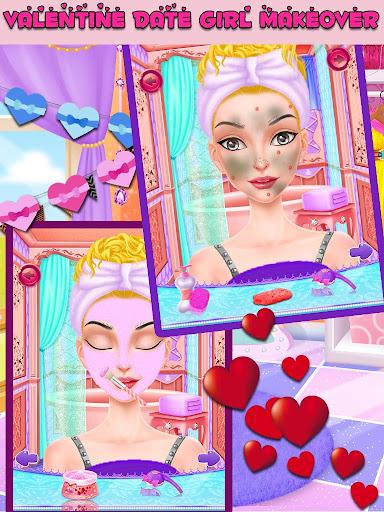Valentine Girl Date Makeover