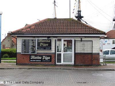 Marina Pizza On Harbour Walk Fast Food Takeaway In Town