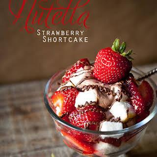 Recipe~ Nutella Strawberry Shortcake.