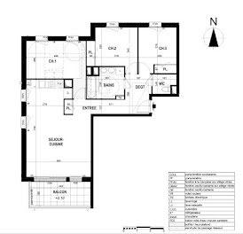 appartement à Saint-Erblon (35)