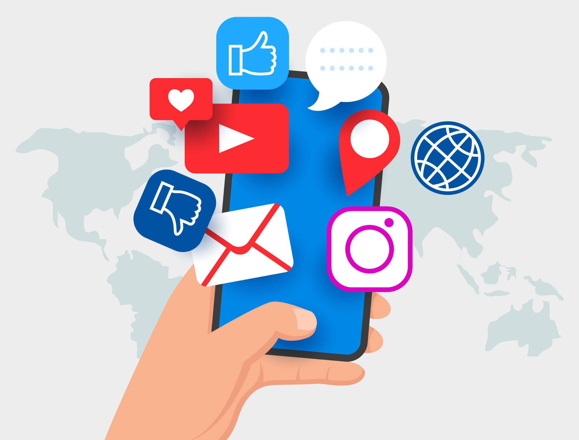 Social Media Là Gì? Áp dụng Social Media như thế nào cho hiệu quả trong  kinh doanh. - Sương Media