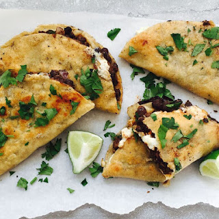 Crispy Black Bean + Feta Tacos Recipe