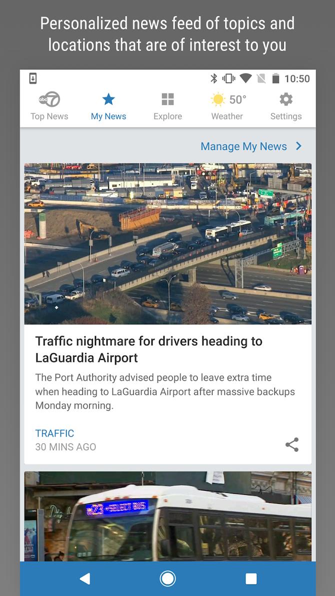 WABC Eyewitness News Android 2