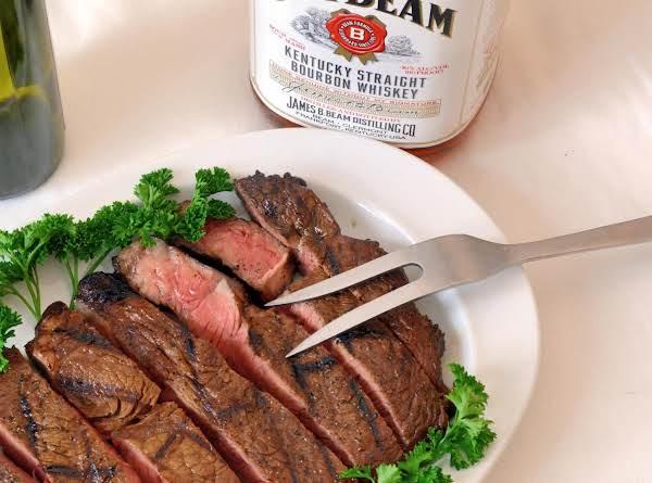 Balsamic Whiskey Sirloin Recipe