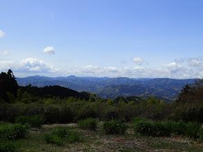 満観峰から西側の展望(八高山方面)