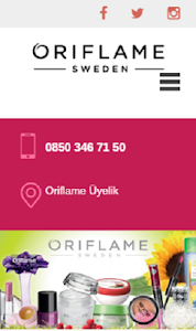Oriflame Üye screenshot 0