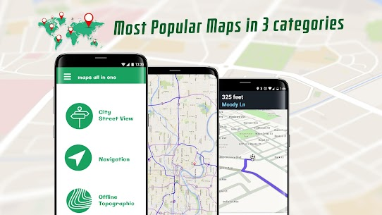 Maps All in One: Navigation, Radars, Speed Cameras 1