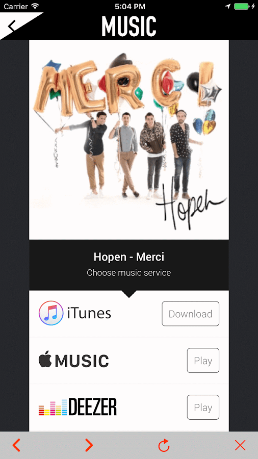 HOPEN- screenshot