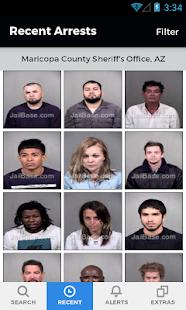 JailBase - Arrests + Mugshots - náhled