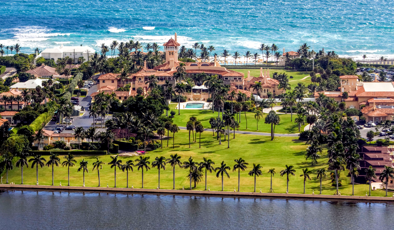 COTE DE TEXAS: Mar A Lago: Before & After of the New Winter White House