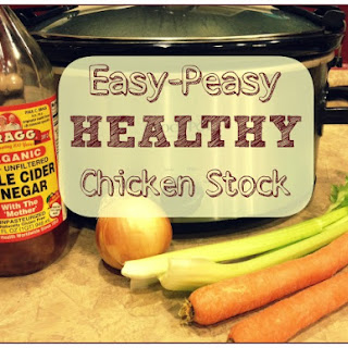 Healthy Homemade Chicken Stock