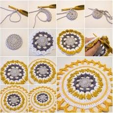 DIYのかぎ針編みのチュートリアルのおすすめ画像5